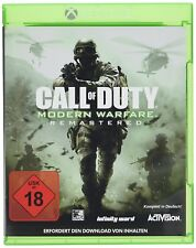 XBOX ONE jeu CALL OF DUTY : Modern Warfare remasterisé PRODUIT NEUF