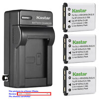 Kastar Battery Wall Charger for Olympus Li-40B Li42B & Olympus Stylus 760 Camera