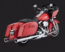 """VANCE AND HINES 4.5"""" SLIP ON MUFFLERS 16455 FOR HARLEY 1995-2015 MODELS"""