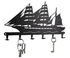 Schlüsselbrett Segelschiff Sea Cloud - Schlüsselboard Hakenleiste, Segelboot