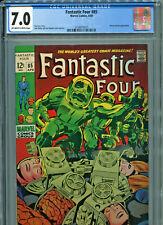 Fantastic Four #85 (Marvel 1969) CGC Certified 7.0