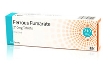 Iron Tablet- Ferrous Fumarate 210mg 84Tablets Fersamal Buy 2 and get 1 Free.