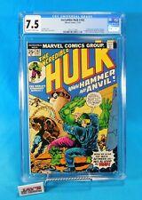 The Incredible Hulk #182 Marvel Comics 1974 CGC Universal Grade 7.5