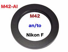 M42 - Al  M42 Objektiv Lens Adapter an -To Alle Nikon F Kamera AI  NIKON F Mount
