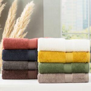 Renee Taylor Stella 650 GSM Super Soft Bamboo Cotton Hand|Bath Towel|Sheet|Mat