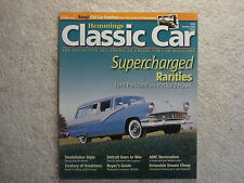Classic Car 2006 January 56 Ford Parklane Packard Hawk 38 Buick 50 Chevrolet