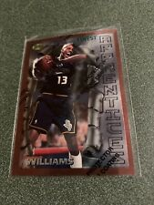 1996-97 Topps Finest Apprentices Jerome Williams RC Rookie Detroit Pistons Big 3