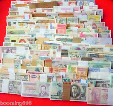 New listing All Genuine 100 Pcs Banknotes paper money from 50 different Countries