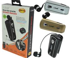 Auricolare Stereo Bluetooth Con Clip-On Retrattile Linq R9010
