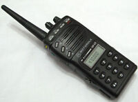 Motorola GP68 VHF 136-174MHz 5W 20 Channels 2-Way Radio + Accessories