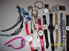 LOT OF MIXED WRIST WATCHES, TIMEX, LORUS, PULSAR, 1957, SERGIO, ELGIN, CARRIAGE