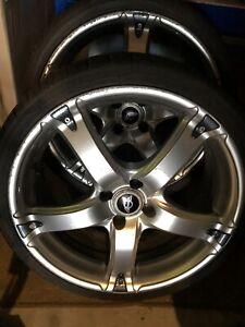 mini cooper s r53 alloy 18 Inch wheels X4