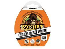 Gorilla White Tape Roll Gorilla tough Grips Smooth Rough Uneven Surfaces 10m 27m