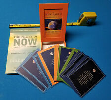Eckhart Tolle Lot: A New Earth 52 Inspirational Cards + The Power of Now Book