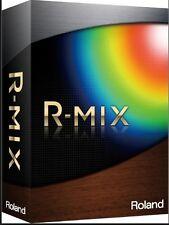 Roland R-Mix Audio Processing Windows PC 10 8 7