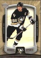 2005-06 Upper Deck Rookie Update Penguins Hockey Card #78 Mario Lemieux