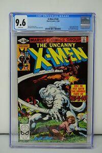 MARVEL COMICS CGC 9.6 THE UNCANNY XMEN 140 12/80 WHITE PAGES
