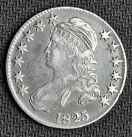 1825 Bust Half Dollar - Choice XF