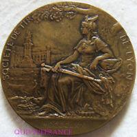 MED9905 - MEDAILLE SOCIETE DE TIR DE LYON 1872 par PATEY