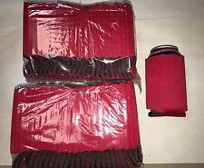 Red Can Cooler Huggie Koozie Blank Lot 100 Screenprint Sublimation Weddings