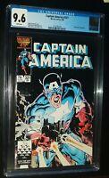 CAPTAIN AMERICA #321 1986 Marvel Comics CGC 9.6 NM+ White Pages