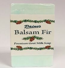 Paine's Balsam Fir GOAT MILK SOAP made in Maine natural skin care 4.5 oz. bar
