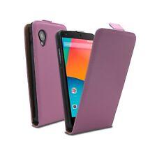 Funda Carcasa Lujo Para Google Nexus 5 Por Para LG a Solapa Cuero ECO Rosa