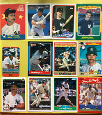 HUGE New York Yankees *Lot Of 600* 1980s + 90s cards! Mattingly Guidry Henderson