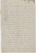 1863 CIVIL WAR CONFEDERATE SOLDIER LETTER 45th GA INFANTRY NEW MARKET VA  BATTLE
