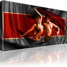 Akt Erotik Bild auf Leinwand mit Keilrahmen / Bilder