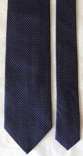 Ermenegildo Zegna Men's Blue Silk Dot Neck Tie