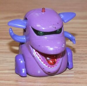 2002 Tomy Micropets Voice Activated Collectible Toy - Sumo Purple *READ*
