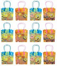 Spongebob Squarepants Goody Bag Party Goodie Gift Birthday Candy Bags 24pc