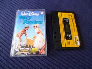 MC Kassette Mary Poppins Disneyland 20 Karussell mit Lieselotte Pulver 1978