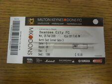 25/02/2008 Ticket: Football League Trophy Southern Area Final, Milton Keynes Don