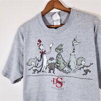 Vintage 1997 Dr. Seuss T Shirt 90s Rare Seuss Wear GRINCH & Co. Cartoon USA XL