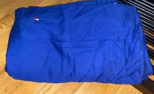 tommy Hilfiger queen flat sheet dark blue cotton