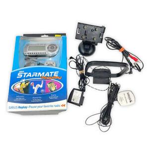 SIRIUS Starmate Replay ST2 Satellite XM Radio Receiver & Car Kit NEW