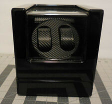 Fiber Style Part or Repair Automatic 2 Watch Winder Carbon