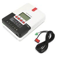 Controlador Regulador de Carga Solar Panel con Indicación LED 20-40A MPPT 12/24V