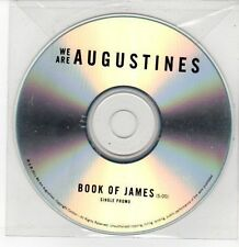 (DQ183) We Are Augustines, Book of James - 2011 DJ CD