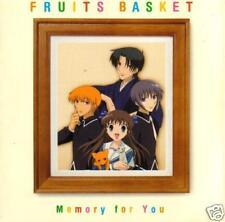 Fruits Basket: Memory For You-2001-Japan Soundtrack CD