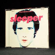 SLEEPER - WHAT DO OUI aujourd'hui - MUSIQUE CD EP
