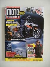 MOTO MAGAZINE 263 VOXAN 1000 VX-KAWA Z 1000 & 1400 GTR-YAM 900 TDM-YAM 1100 XS