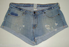 "GORGEOUS SASS&BIDE DISTRESSED DENIM SHORTS - 30 ""HERMIONE"""