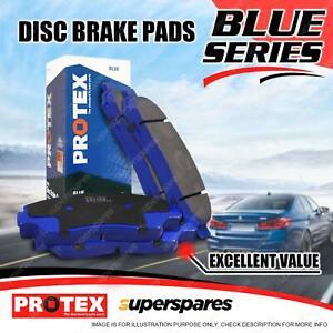 4 Front Protex Blue Brake Pads for Nissan Navara 2WD 4WD D21 KA24E VG30E D22