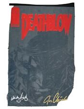 Deathblow #1 Black Cover Signed by Multiple People