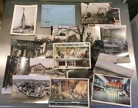 Norway postcards, RoseMaling postcard booklet, Viking Photo booklet 1950s