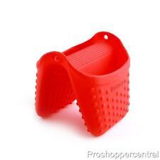 NEW Dexas Silicone Pinch Mitt Pot Holder - Red