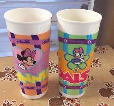 Tupperware Disney Plastic Tumbler Minnie Mouse & Daisy Duck (2)
